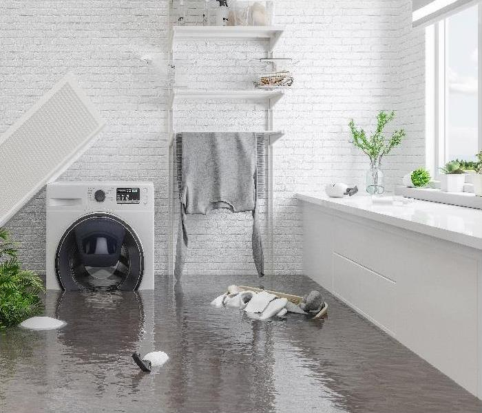 water damage caused by storm