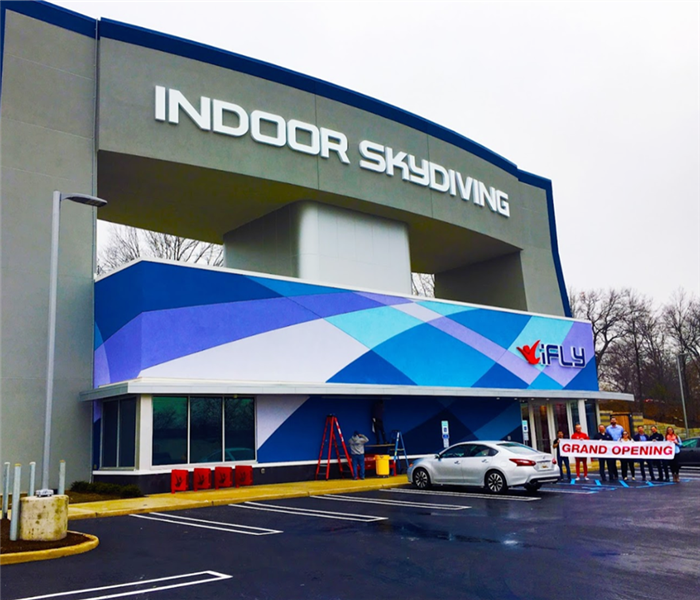 The Indoor skydiving iFLY